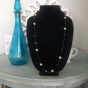 White House Black Market Beaded Necklace